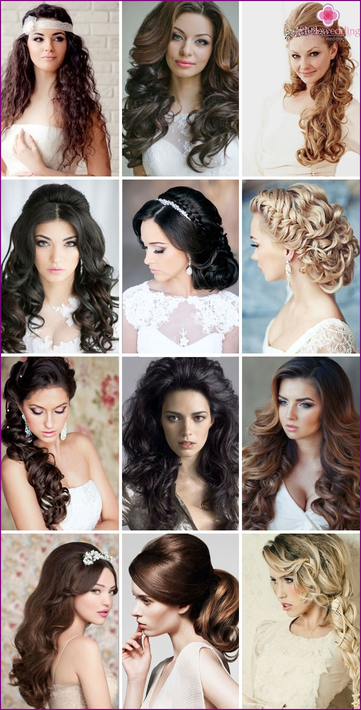 Wedding hairstyles with fleece