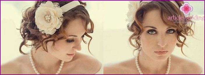 Wedding styling with a ribbon-style 20s