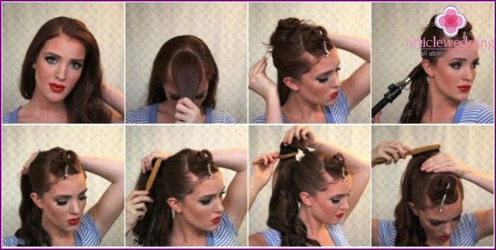 Stages retro hairstyles