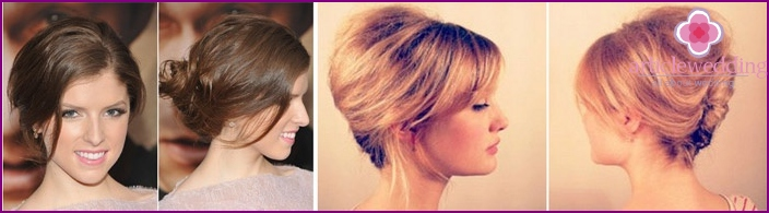 Hairstyle French Twist