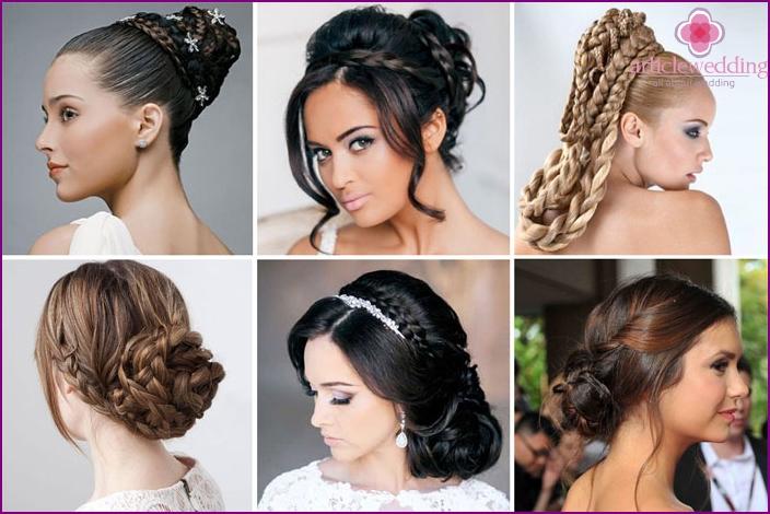 Bride Laying: braids and beam