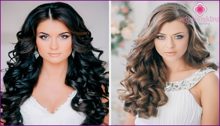 Options curling curls