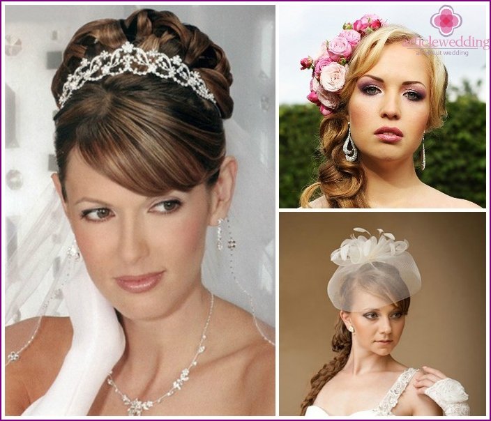 Photo: Wedding styling with tiara