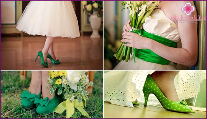 Accessories emerald veil