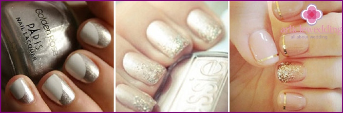 Options varnishing short nails