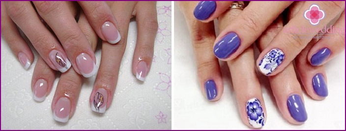 Decoration on the nail