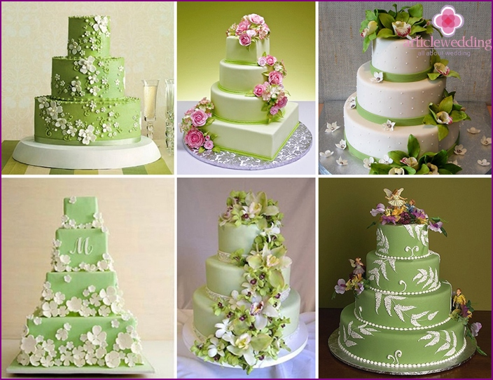 Using a cascade of leaves and flowers