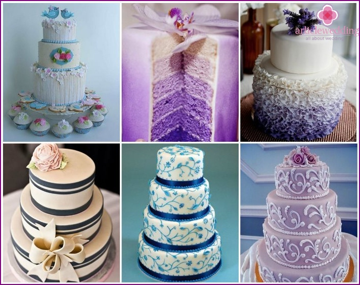 Examples of cakes in the style of Provence