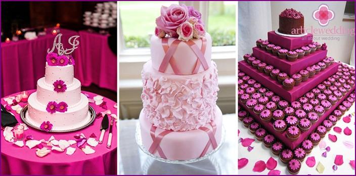 Examples of original desserts