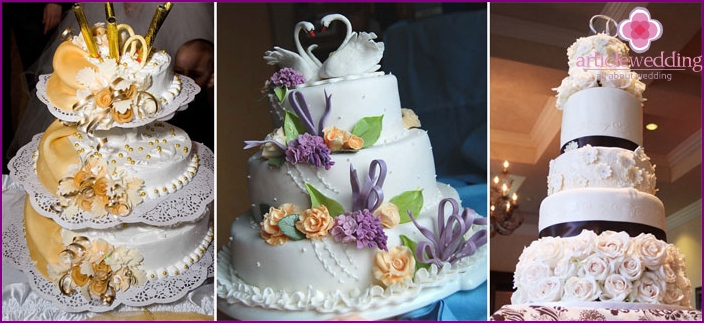 cakes options on 50-year wedding anniversary
