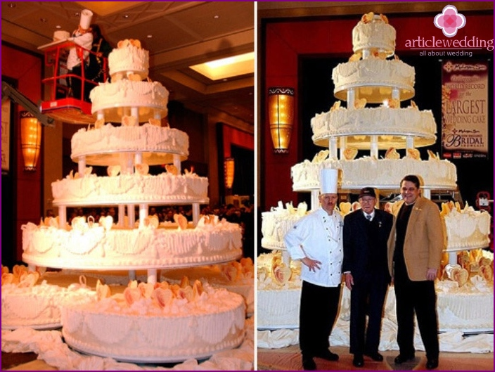 Giant Cake for wedding