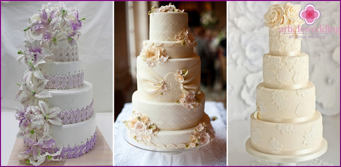 Photos wedding cake white
