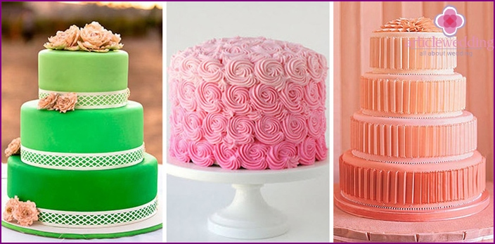 Beautiful design of birthday cakes