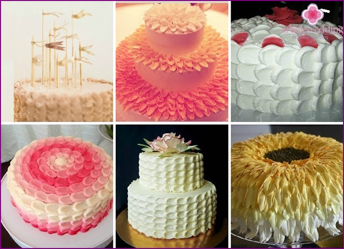 Types petal design