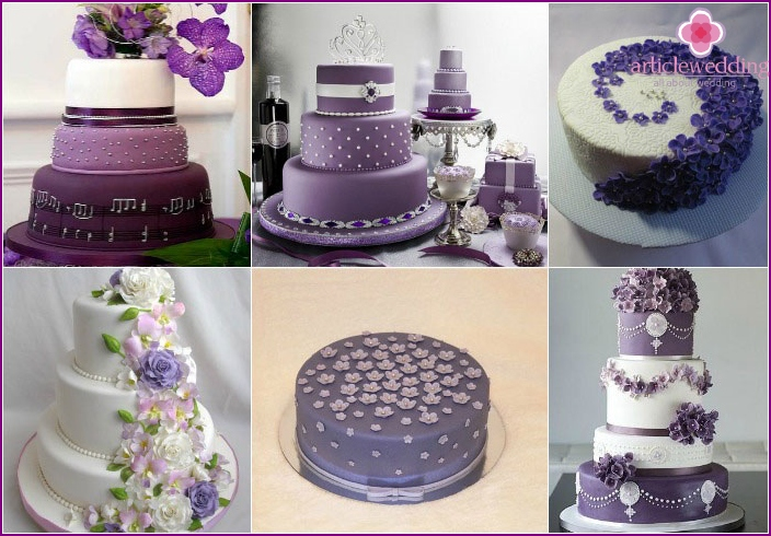 Sugar beads - the decoration of the wedding dessert