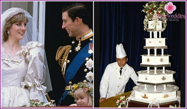 Wedding Cake of Prince Charles and Princess Diana