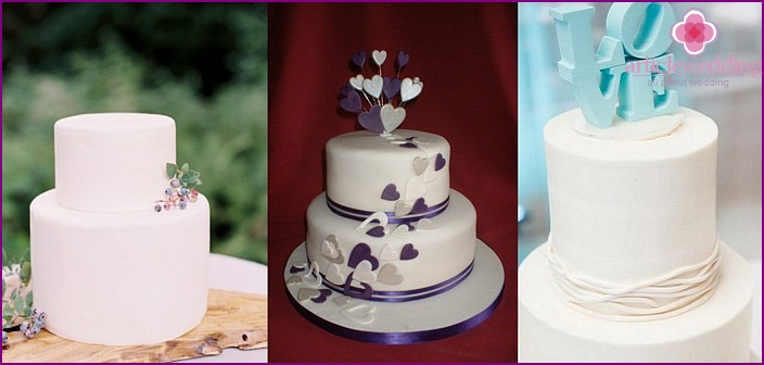 Classic Wedding Cake mastic
