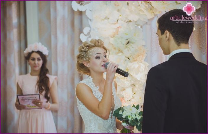 The bride groom speech