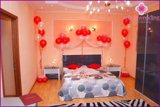 Own apartment for the wedding night