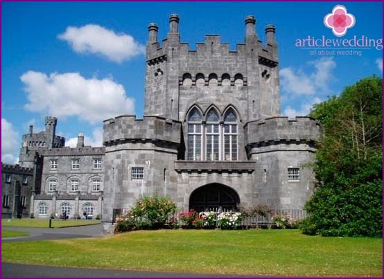 Fairytale castle for a medieval wedding