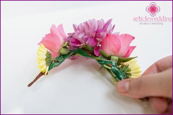 Lock all the flowers in a hairpin