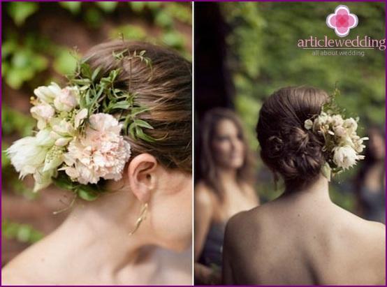 Fashionable wedding decoration