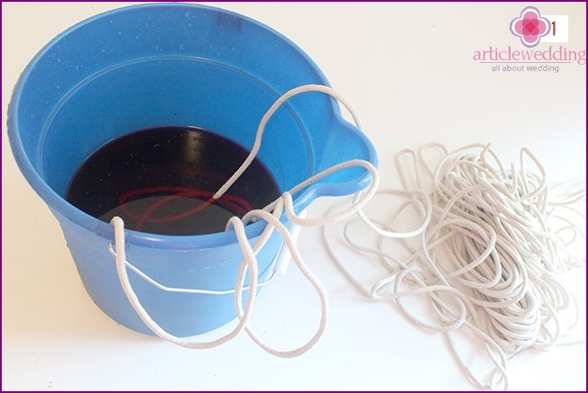 Preparing Colored Water