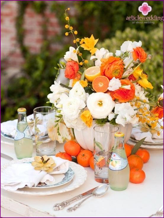 Summer Mandarin Wedding