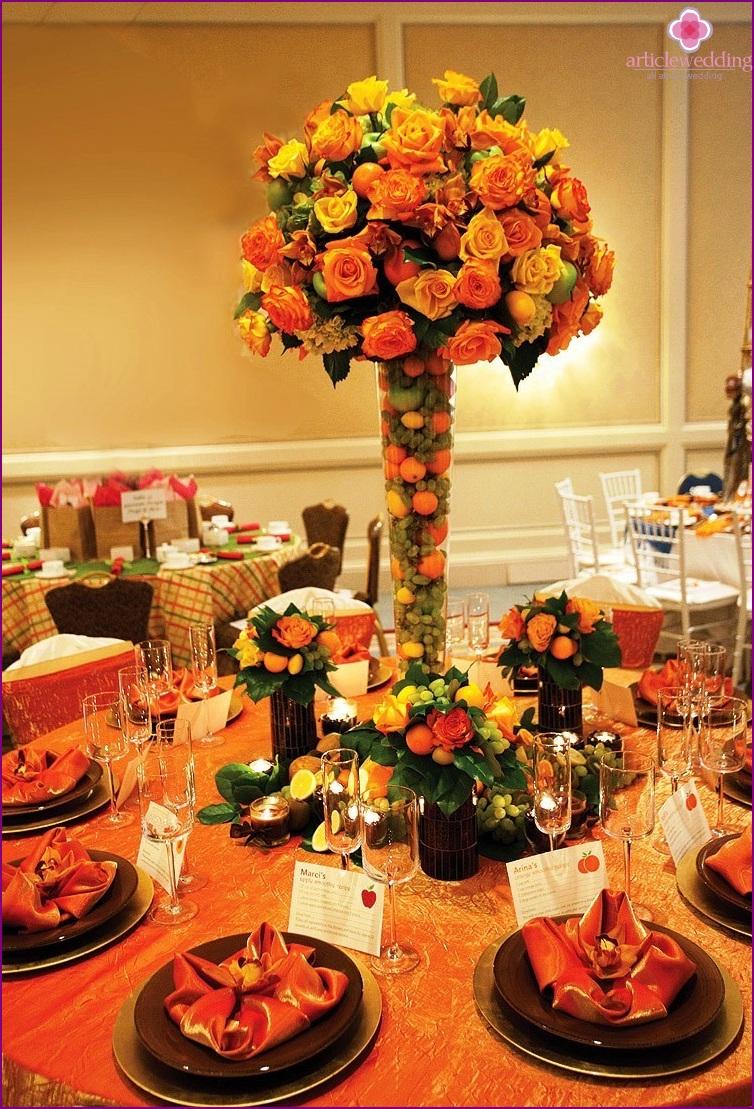 Mandarin Wedding Decor
