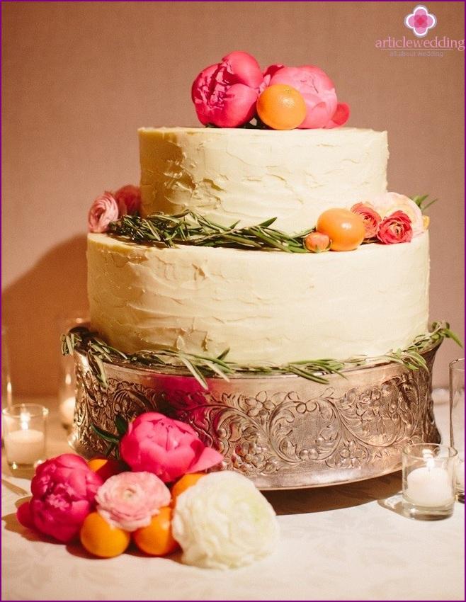 Mandarin Wedding Cake