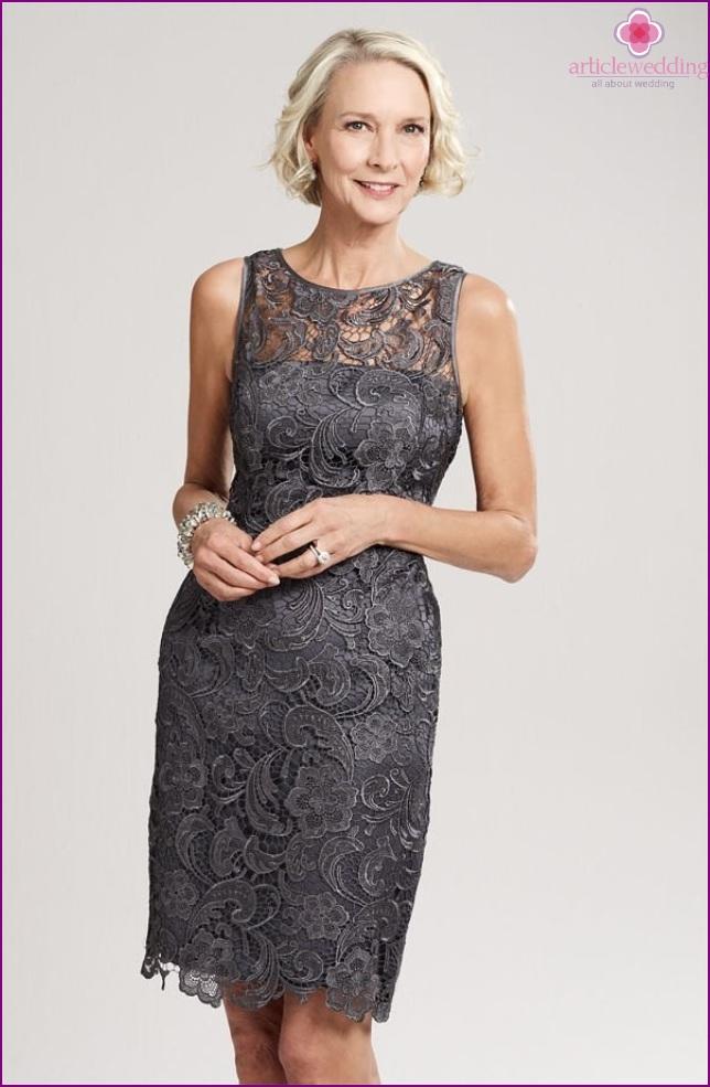 Cropped Lace Dress
