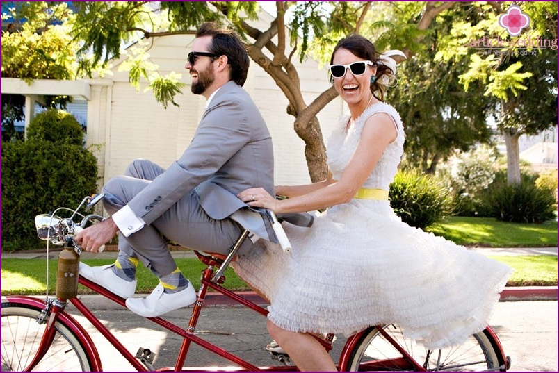 Wedding Cycling