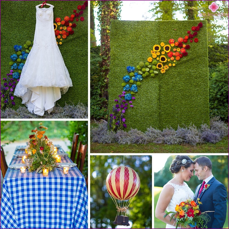 The Wizard of Oz style wedding