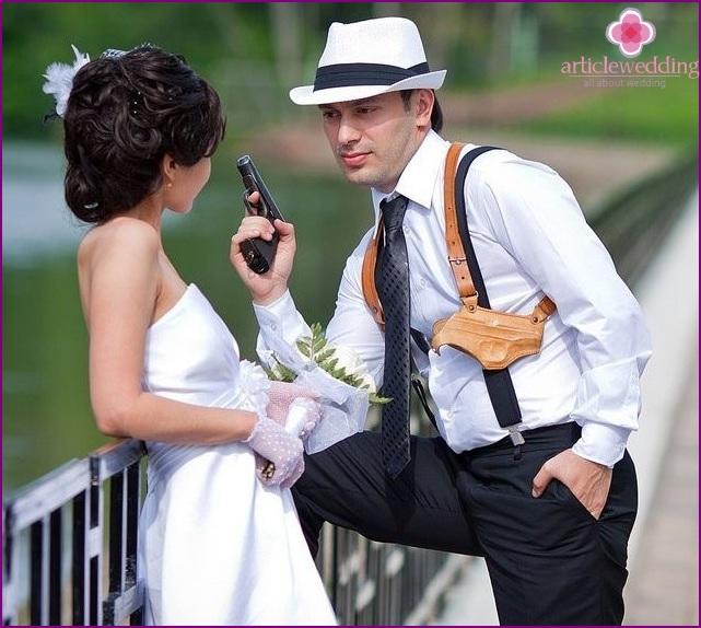 Hochzeit im Chicago-Stil