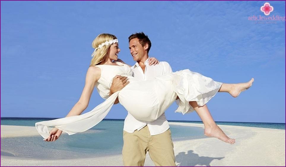 Wedding image of the newlyweds