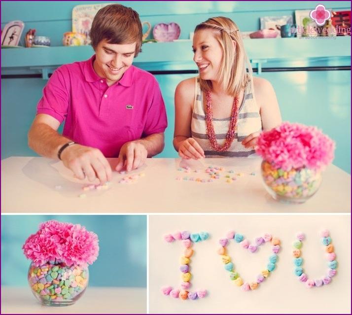Love story spelling
