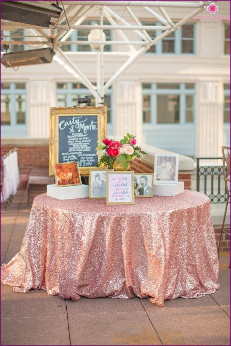 Roof wedding zoning