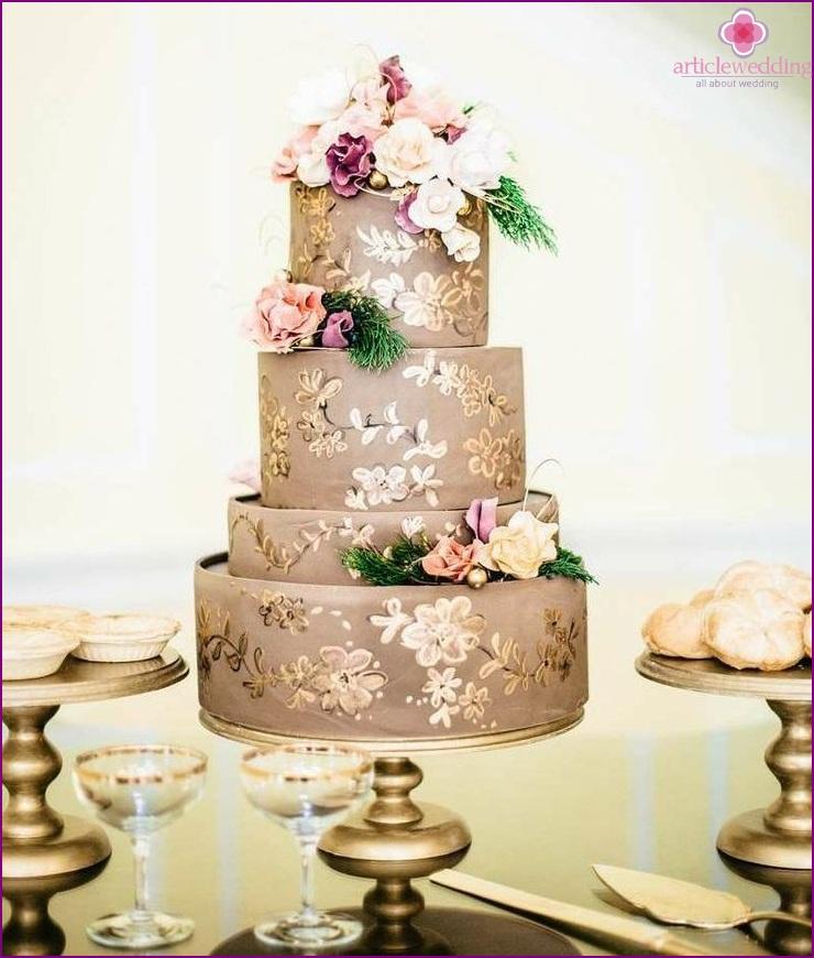 Metal cake