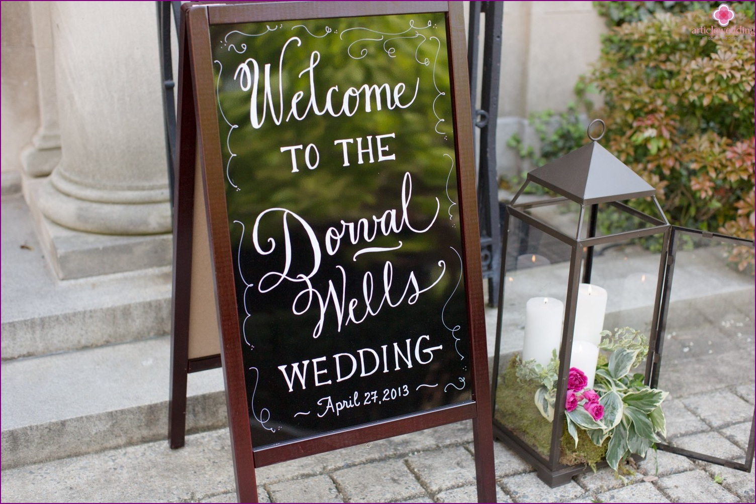 Wedding navigation