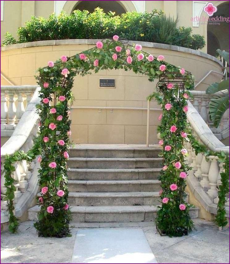Wedding welcome zone decor
