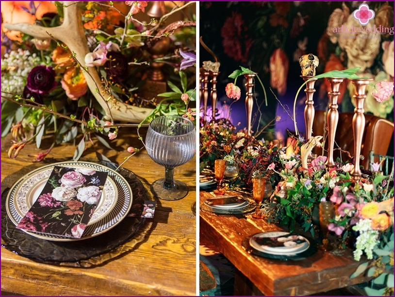 Eclecticism or a blend of wedding styles
