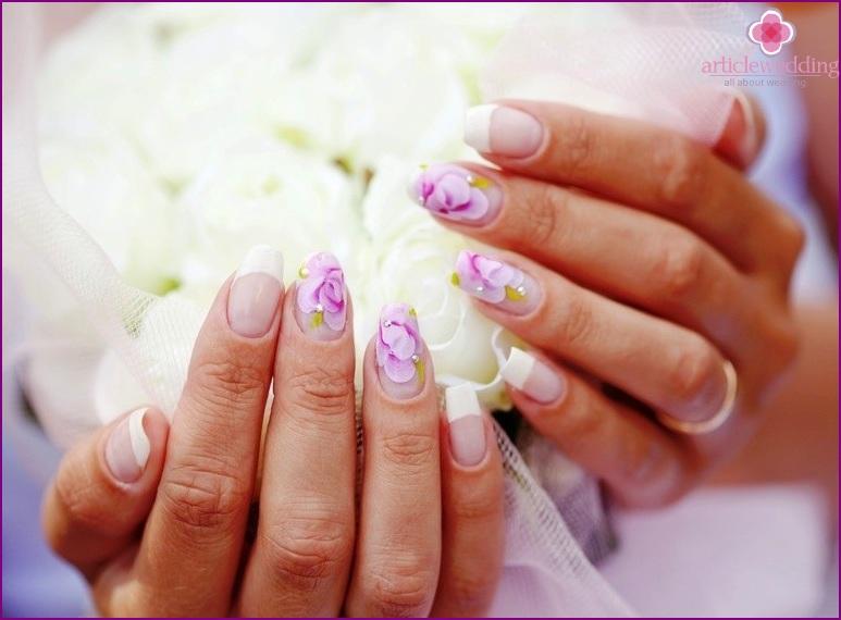 Wedding manicure 2016