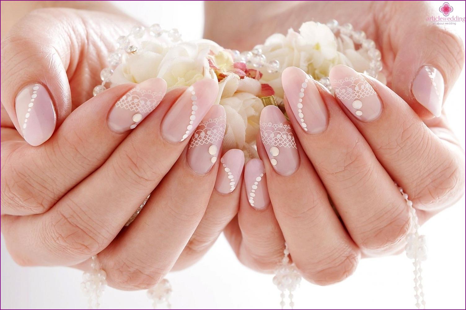 Pastel Color Manicure