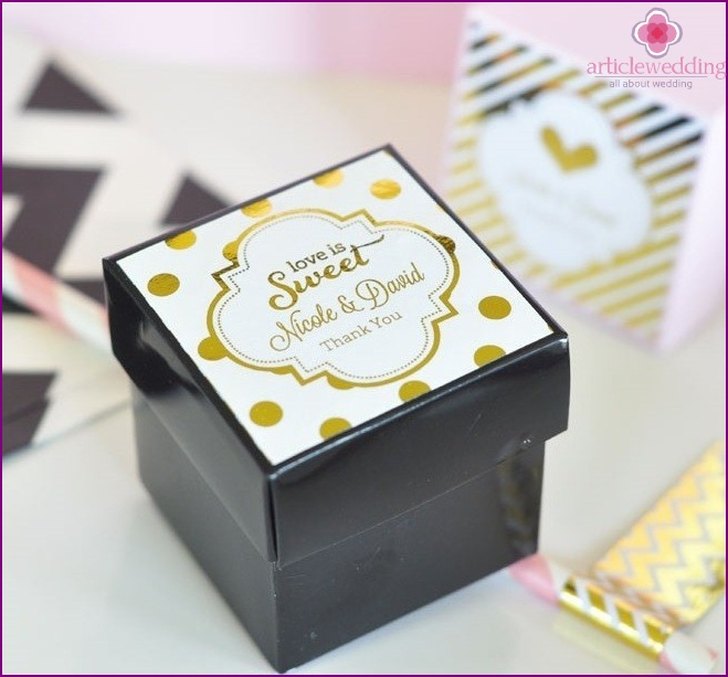 Bonbonniere Box
