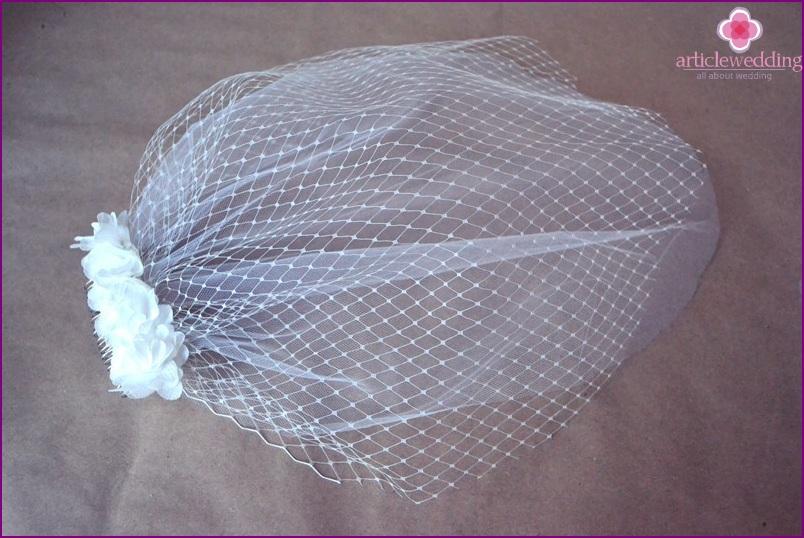The veil is ready