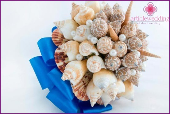 Shell Bridal Bouquet