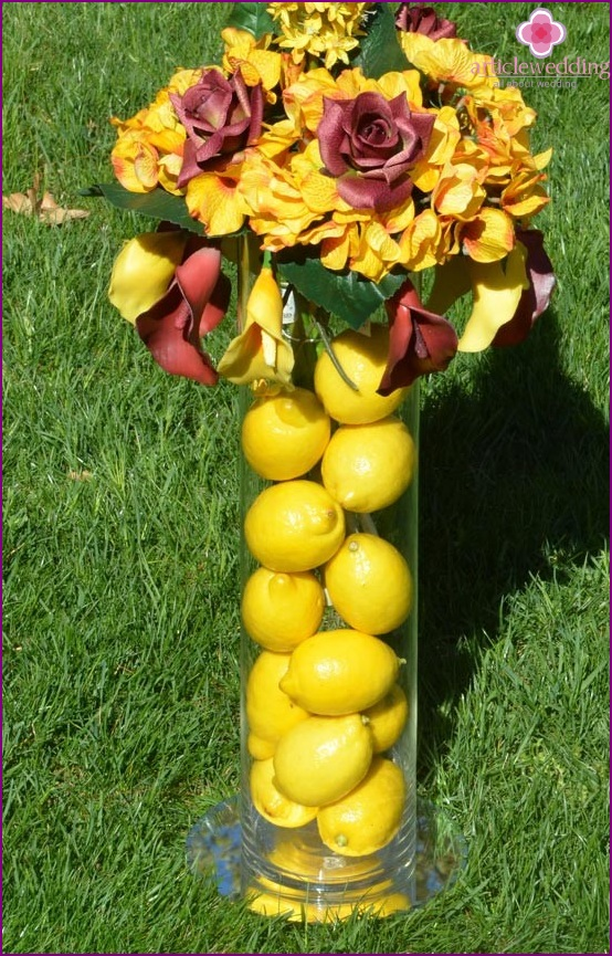 Lemon Wedding Decoration
