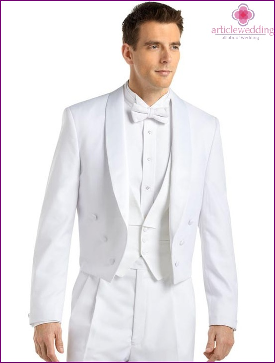 Tailcoat for a wedding