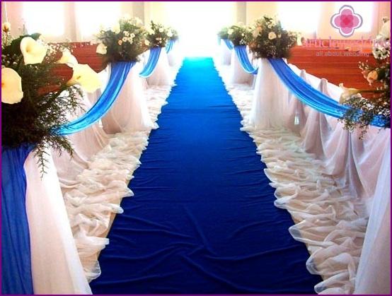 Beautiful blue track