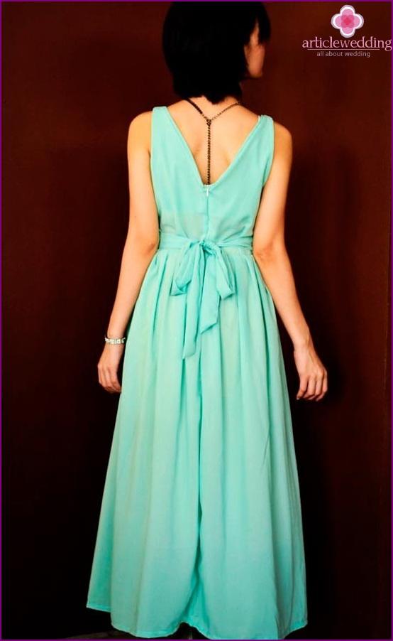 Classic Mint Wedding Dress
